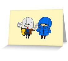 Brolin doodle. Greeting Card