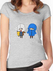 Brolin doodle. Women's Fitted Scoop T-Shirt