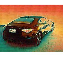 Subaru BRZ Photographic Print