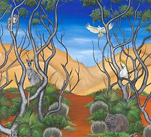 """""""Aussies at Play"""" by Jules Summers"""