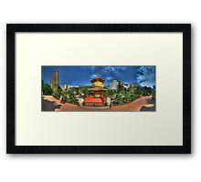 Nam Lian Garden - Panoramic Framed Print