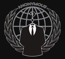 Anonymous Logotype by Garaga