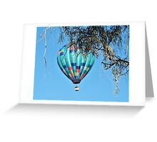 Balloon Over Havasu Greeting Card