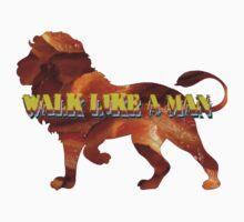 Walk Like A Man Kids Tee