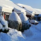 Snow Winter in Sweden by HELUA
