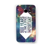 900 Years of Time and Space Samsung Galaxy Case/Skin