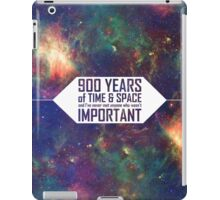 900 Years of Time and Space iPad Case/Skin