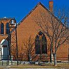 Boulder Montana United Methodist Church by Bryan D. Spellman