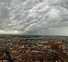 """Storm Over Firenze"" by frogwithwings"