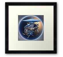 Space Incendia Framed Print