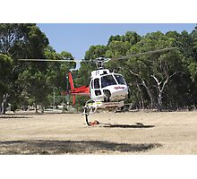 Firebomber Helicopter Photographic Print