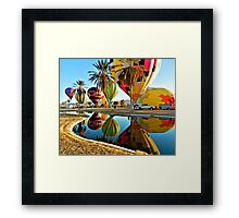 Monday Morning Blow Up Framed Print