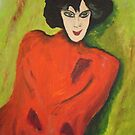 Hommage on Jawlensky by Birgit Schnapp