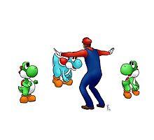 #MarioKeeping Photographic Print