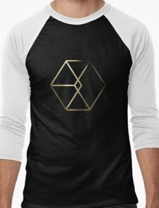EXO - Exodus Logo 3 Men's Baseball ¾ T-Shirt