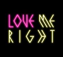 EXO 'Love Me Right' Logo by PaolaAzeneth