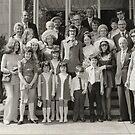 1971 Niece's Wedding Group by Woodie
