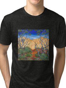 """An Aussie Playground"" Tri-blend T-Shirt"