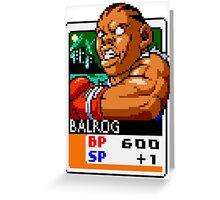 Balrog Greeting Card