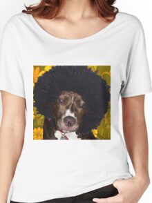 Psychedelic Pitbull Women's Relaxed Fit T-Shirt