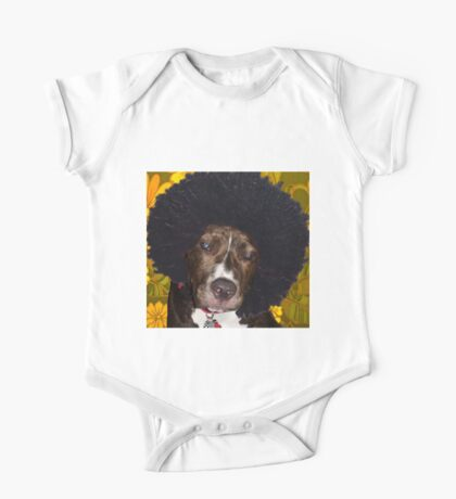 Psychedelic Pitbull One Piece - Short Sleeve