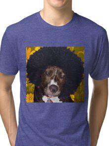 Psychedelic Pitbull Tri-blend T-Shirt