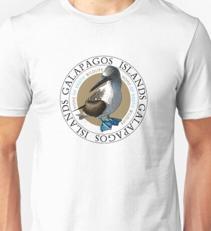Galapagos Islands Blue footed Booby Unisex T-Shirt