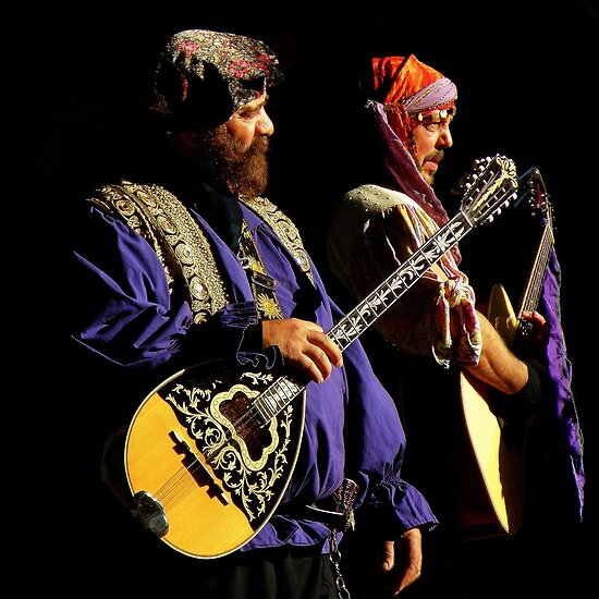 Renaissance Encounters : The Medieval Rock Band by artisandelimage