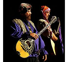 Renaissance Encounters : The Medieval Rock Band Photographic Print