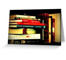 Books... And More Books.. Greeting Card