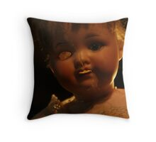 """China Cleft"" Throw Pillow"