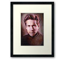 Fox Mulder Framed Print