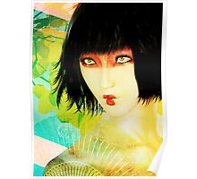 Maiko in Spring Poster