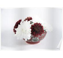 Flower bowl Poster