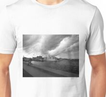 storm in the bay in watch hill, ri Unisex T-Shirt