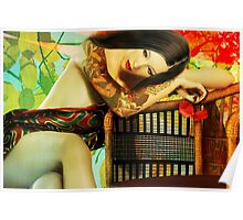 Empty Chair Maiko Poster