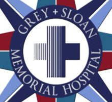 Grey's Anatomy - Grey Sloan Memorial Hospital  Sticker