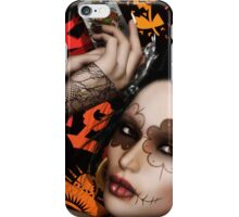 Sugar Doll The Queen of Spades iPhone Case/Skin
