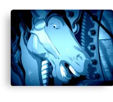 Horsey Face Canvas Print