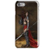 Bellona, Roman Goddess of War iPhone Case/Skin