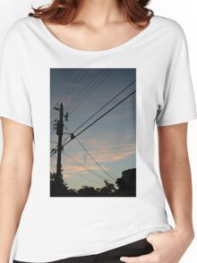 sky at dusk Women's Relaxed Fit T-Shirt