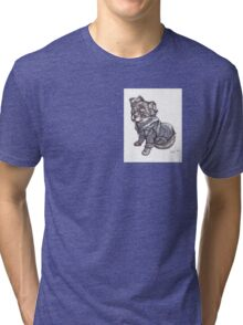 Hooded Cuteness Tri-blend T-Shirt