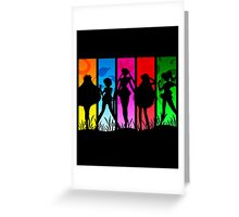 Pretty Guardian Sailor Moon - All the Sailors Greeting Card