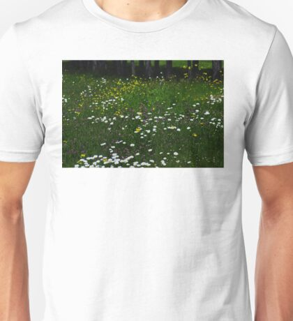 ...and daisies Unisex T-Shirt