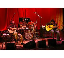 Los Lonely Boys, going acoustic... Photographic Print