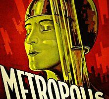 Metropolis Poster by pigeonboycas
