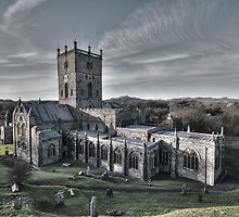 St Davids Cathedral by Mark Robson