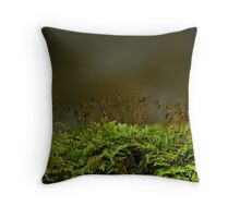 Fragile and Strong Nature Throw Pillow