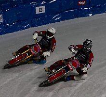 Ice-Speedway Duo by Stefan Trenker