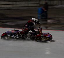 Ice-Speedway on the side by Stefan Trenker